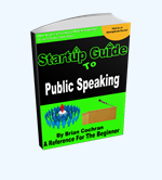 Startup Guide To Be A Public Speaker- E-book