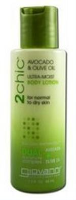 2Chic Avocado & Olive Oil Ultra-Moist Body Lotion Travel Size - 1.5 Oz  - Pack Of 1