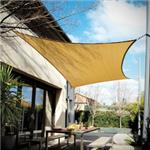 "Coolaroo Extreme Rectangle Shade Sail, Desert Sand (16""5 x 9""8)"