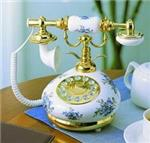9005HT Blue Delft White Porcelain phone
