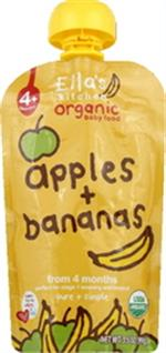 Apple/Banana Baby Food (Pack of 7) - Pack Of 7